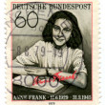 Vintage German postage stamp — Stock Photo #1289964