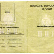 Germ(GDR) Military ID — Stock Photo #1303511