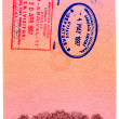 Passport stamps — Stock Photo #1305431