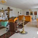 Interior of russian orthodox church — Stock Photo #1330817