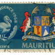 Stock Photo: Vintage Mauritius postage stamp