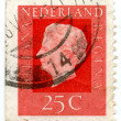 Vintage Nederlands postage stamp — Stock Photo #1335272