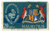 Vintage Mauritius postage stamp — Stock Photo