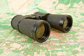 Binocular campo ejército ruso — Stockfoto