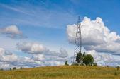 Rusya'da jeodezik nokta — Stok fotoğraf