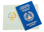 Tajikistan passport — Stock Photo