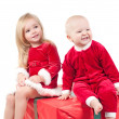 Christmas babies — Stock Photo #1076859