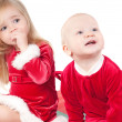 Christmas babies — Stock Photo #1076877