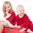 Christmas babies — Stock Photo #1076897