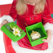 Christmas toddler — Stock Photo #1079795