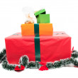 Present boxes — Stock Photo
