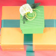 Present boxes — Stock Photo #1097418