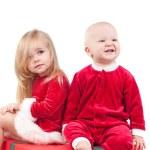 圣诞婴儿 — 图库照片