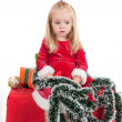 Christmas toddler — Stock Photo #1118148