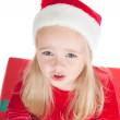 Christmas toddler — Stock Photo #1118186