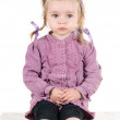 A little girl in studio — Stock Photo #1144736