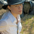 Woman-cowboy — Stock Photo #1147625