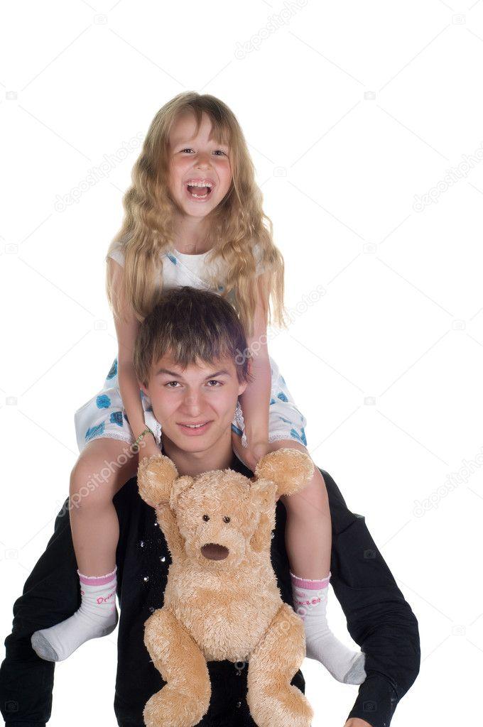 Секс с сестрой, порно с сестрой, брат соблазнил сестру