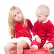 Christmas babies — Stock Photo #1179282