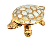 Gold turtle — Stock Photo