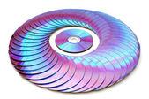 Laser disk — Stock Photo