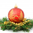 Christmas-tree decorations — Stock Photo #1260654