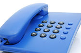 Blue phone — Stock Photo