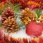 Christmas tree decorations — Stock Photo #1380756