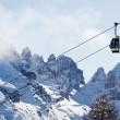 Ski resort Madonna di Campiglio — Stock Photo