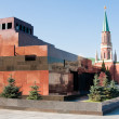Mausoleum on the Red Square in Moscow — Stock Photo