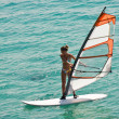Stock Photo: Windsurf