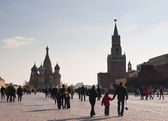 View of Red Square, Moscow. Russia — Stock Photo