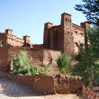 The Kasbah Ait ben haddou in Morocco - Stock Photo