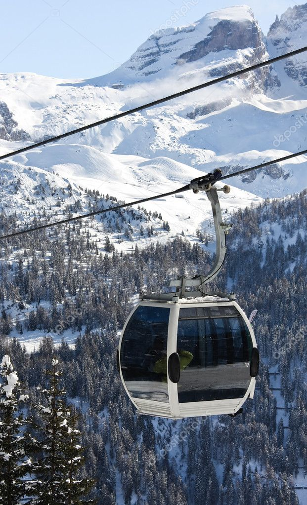 Madonna di Campiglio Italy  city pictures gallery : Ski resort Madonna di Campiglio. Italy — Stock Photo © nikolpetr ...