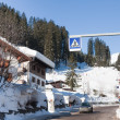 Ski resort Madonna di Campiglio. Italy - Stock Photo