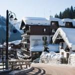 Ski resort Madonna di Campiglio. Italy — Stock Photo #1159796