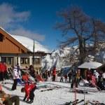 Ski resort Madonna di Campiglio. Italy — Stock Photo #1186442