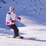 Skifahrer zum Jahreswechsel — Stockfoto #1193121