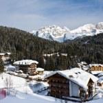 Ski resort Madonna di Campiglio. Italy — Stock Photo #1223269