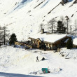 France. Ski resort Val d'Izere - Stock Photo