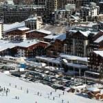 Ski resort Tignes. France — Stock Photo