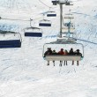 Stock Photo: France. Ski resort Val d'Izere
