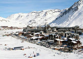 Ski resort Tignes. France — Stock Photo