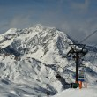 France. Ski resort Val d'Izere — 图库照片