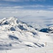 France. Ski resort Val d'Izere — Stock Photo