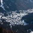 Stock Photo: Ski resort Madonndi Campiglio. Italy
