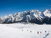 Ski resort Madonna di Campiglio. Italy — Stock Photo