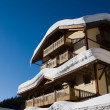 Ski resort Madonna di Campiglio. Italy — Stock Photo #1389488