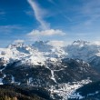 High mountains under snow in the winter — Stock Photo #1389503