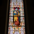 Royalty-Free Stock Photo: Church stained glass window